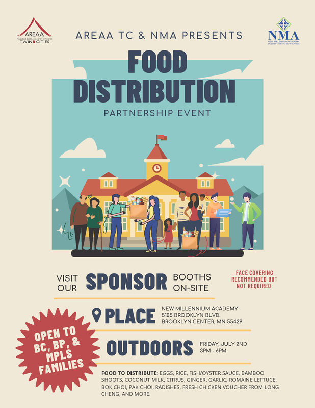 food distribution event t