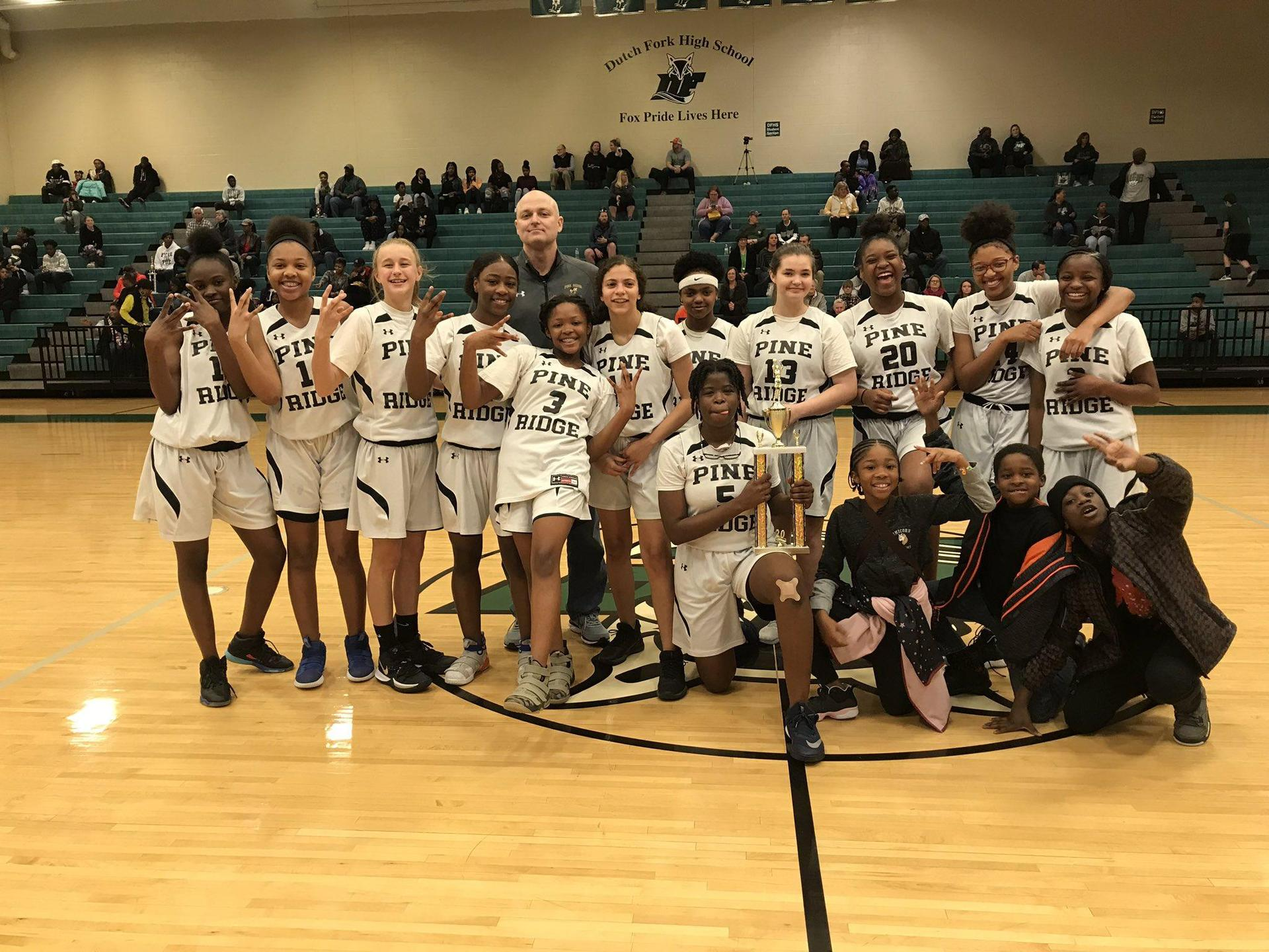 Girls Basketball 2020 PAC Champs