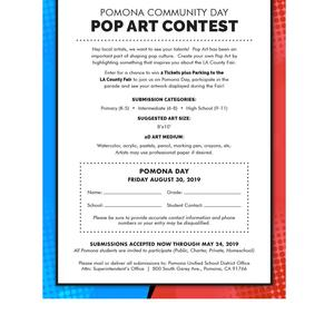 Hey local artists, we want to see your talents! Pop Art has been an important part of shaping pop culture. Create your own Pop Art by highlighting something that inspires you about the LA County Fair.