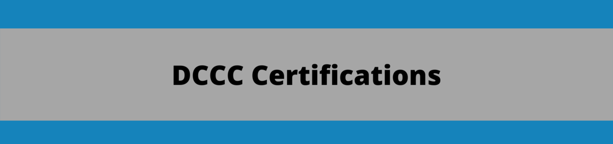 DCCC Certifications