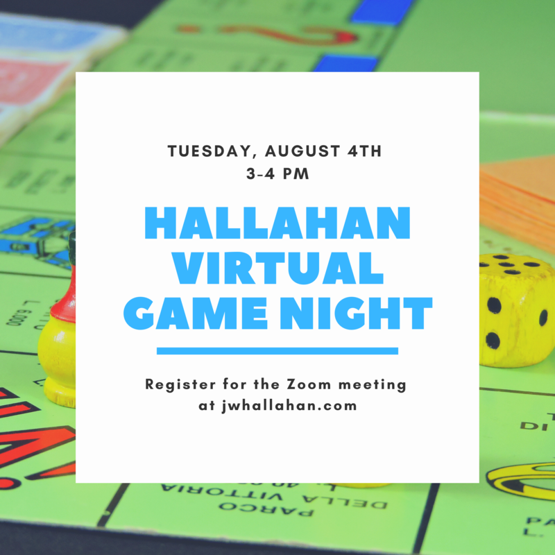 Join us for Vitual Game Night!!! Featured Photo