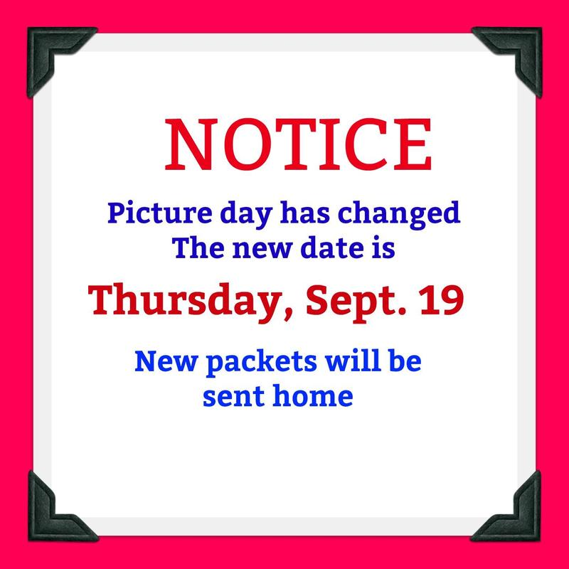 New Date For Picture Day Thumbnail Image