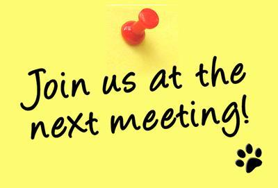 Join us at the next meeting!