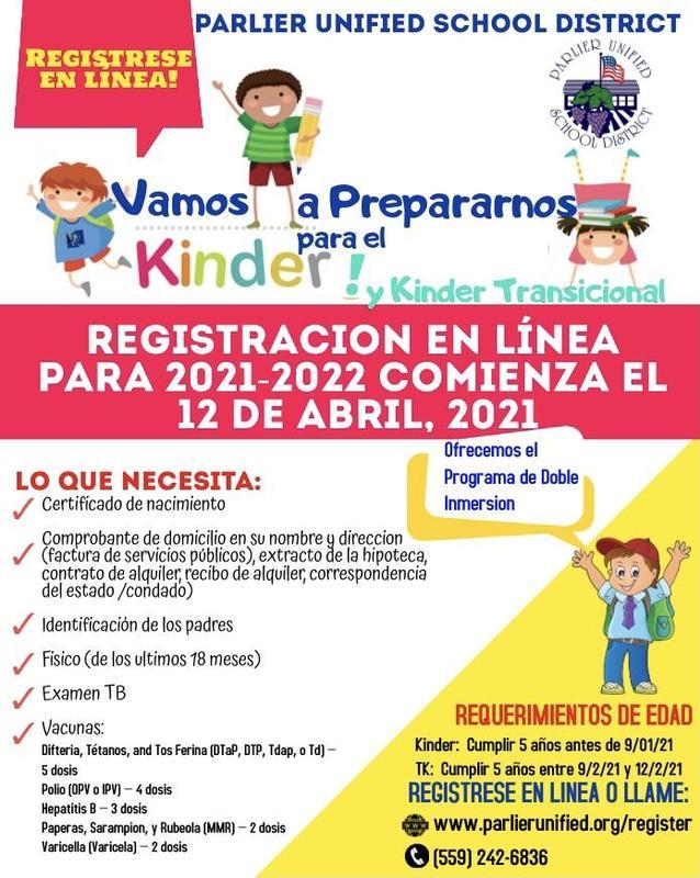 2021 Kinder Registration Flyer Spanish.jpg