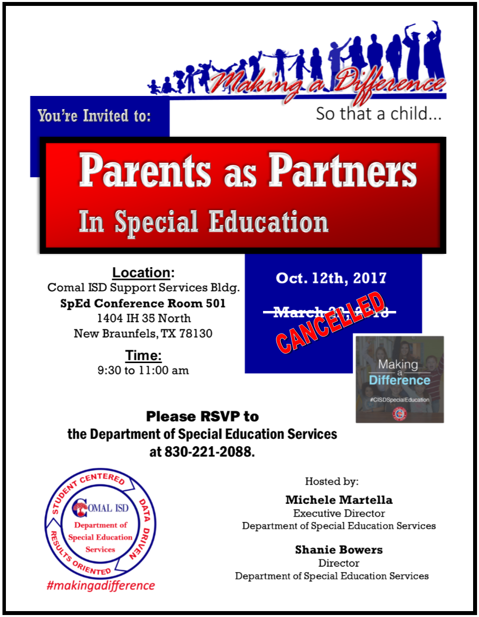 Parents as Partners Brochure