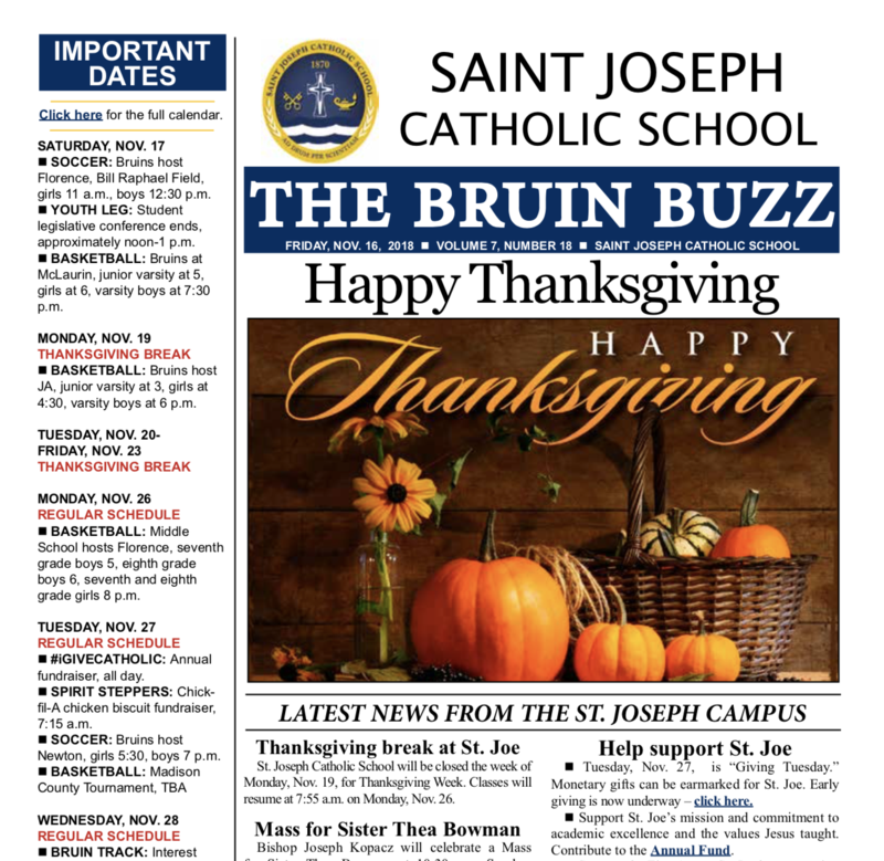THE BRUIN BUZZ: FRIDAY, NOV. 16 Thumbnail Image