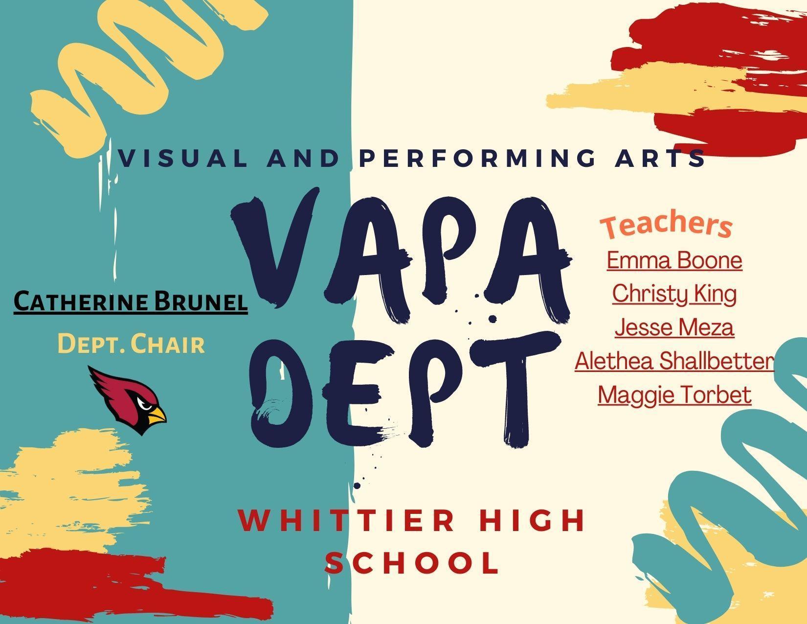 WHS VAPA Dept