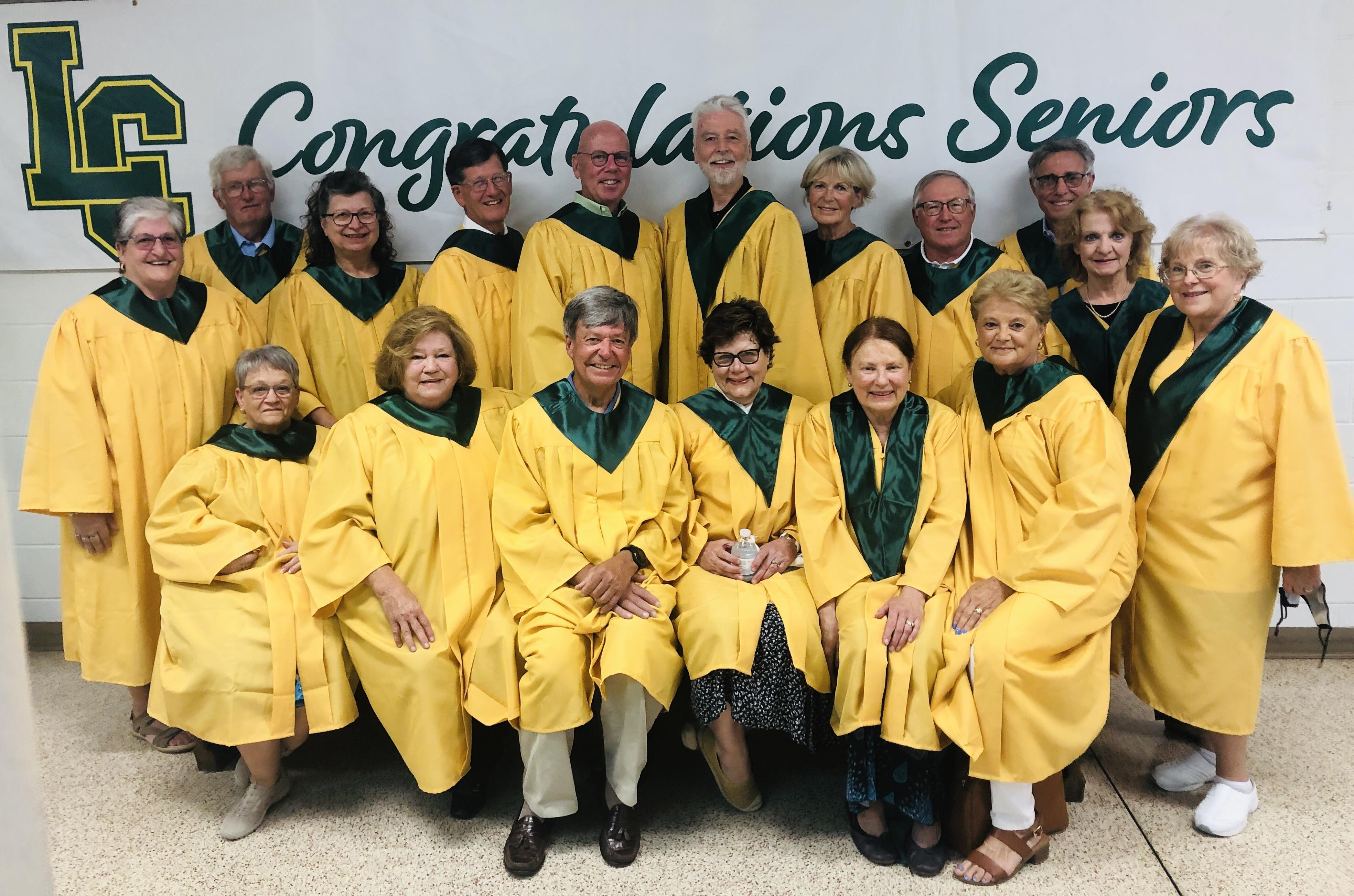 Welcome Back Golden Grads From 1970 & 1971 Image