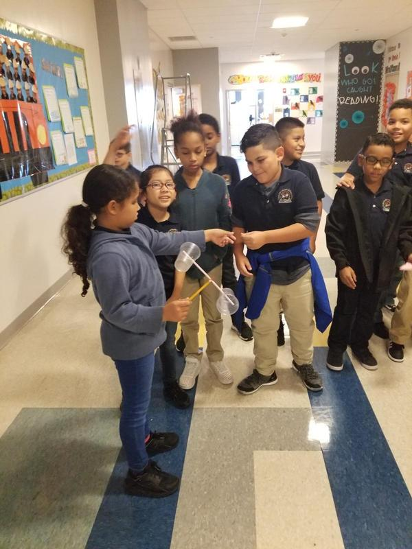 3rd Grade students detecting weather pattern