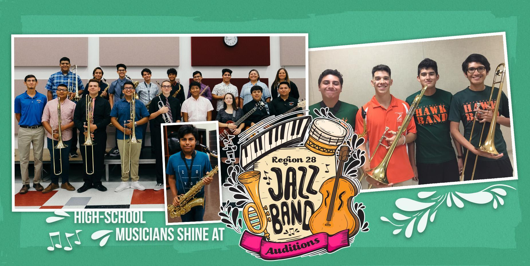 High-school musicians shine at Region 28 Jazz Band auditions