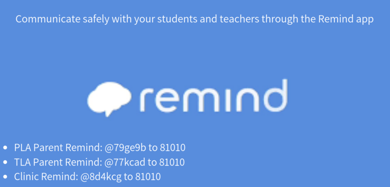 Parent Remind and Clinic Remind Sign Up Featured Photo