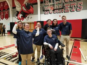 pic of Knoch Bocce team