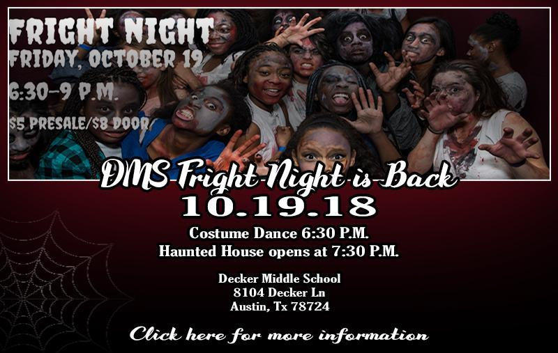 DMS Fright Night is Back Thumbnail Image