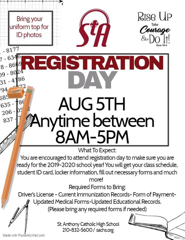 Registration Day Flyer