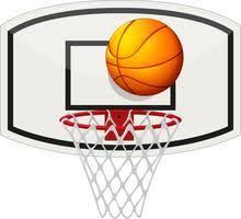 Picture of Basketball and Hoop