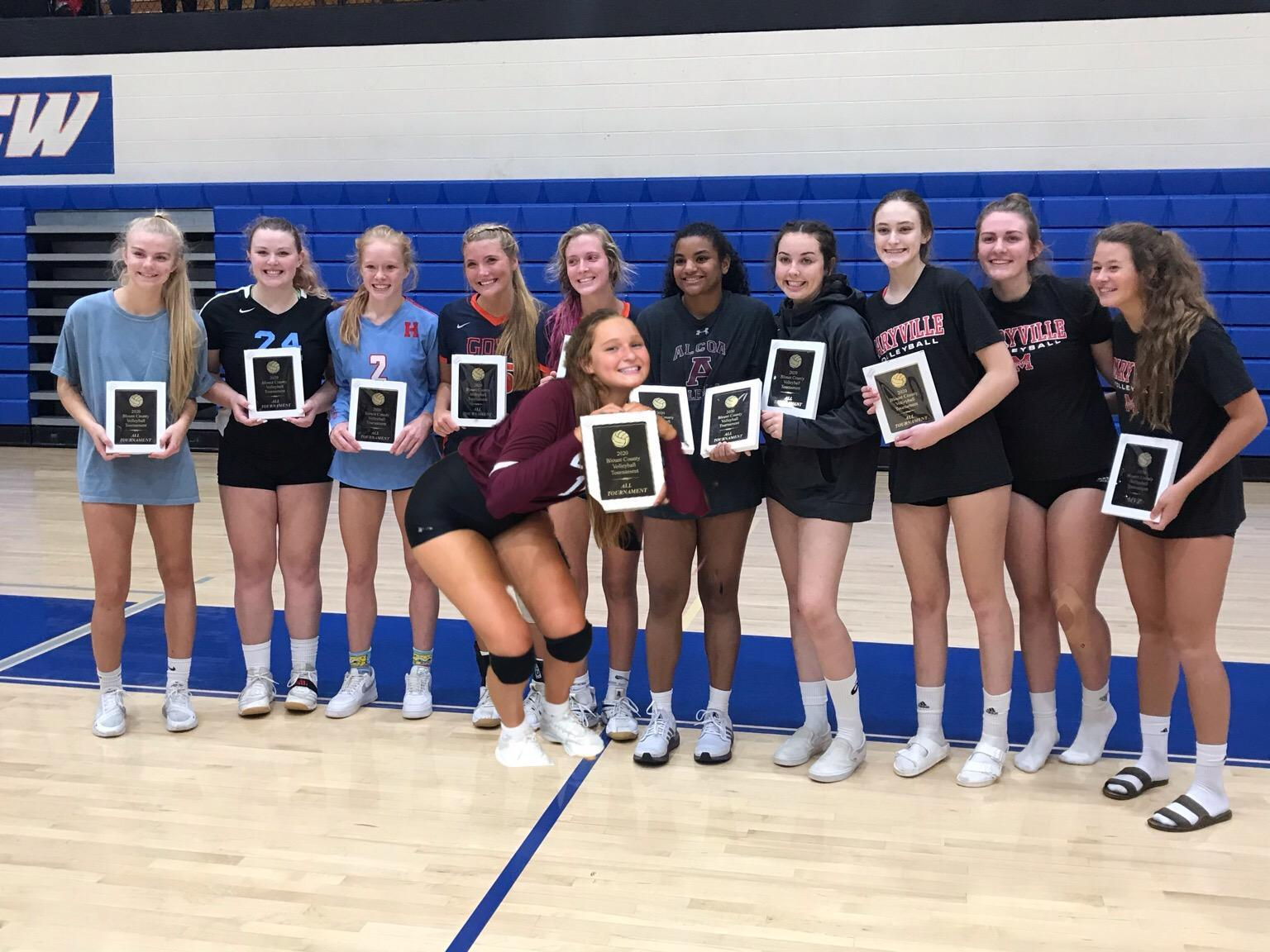 2020 All County Team