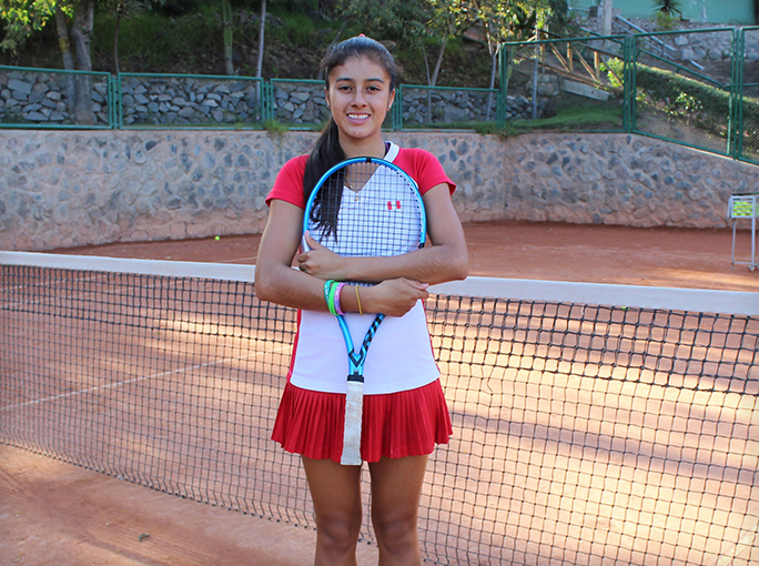 "Dana Guzman (Class of 2019 - ""Forelsket"") achieved the eleventh place in the Junior International Tennis Federation (ITF) Featured Photo"
