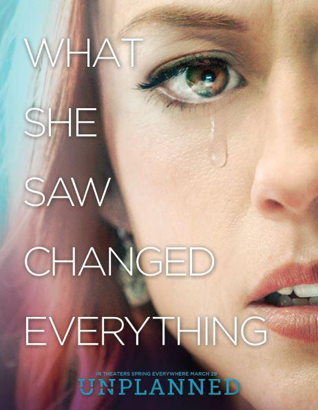 Unplanned – In Theaters March 29, 2019. Thumbnail Image