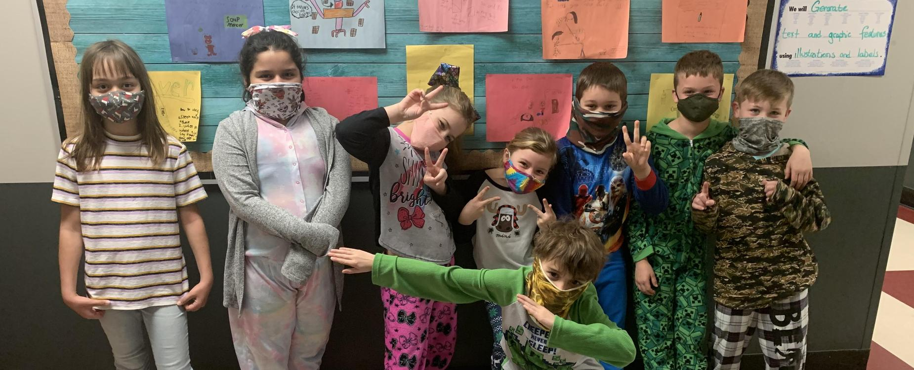 pajama day for kindness week