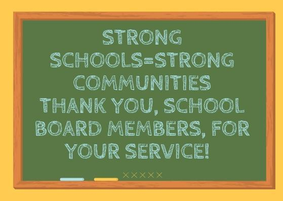 Thank you to our schoolboard!