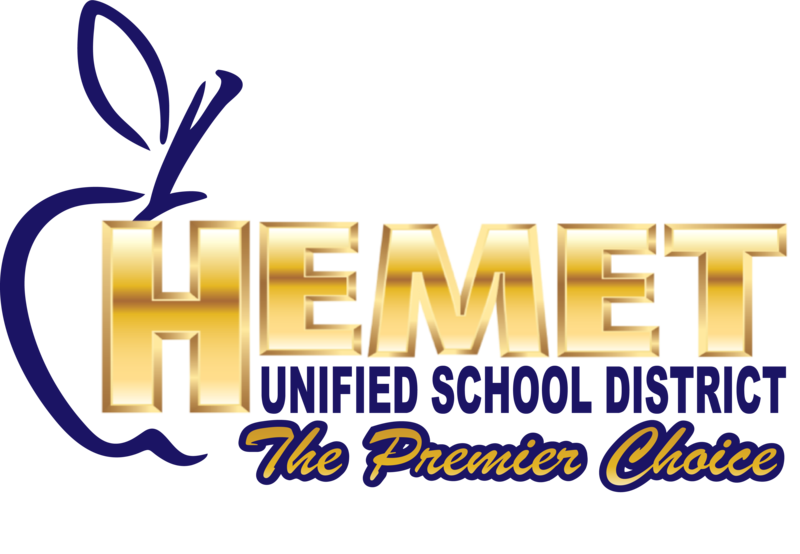 Hemet Unified's logo.