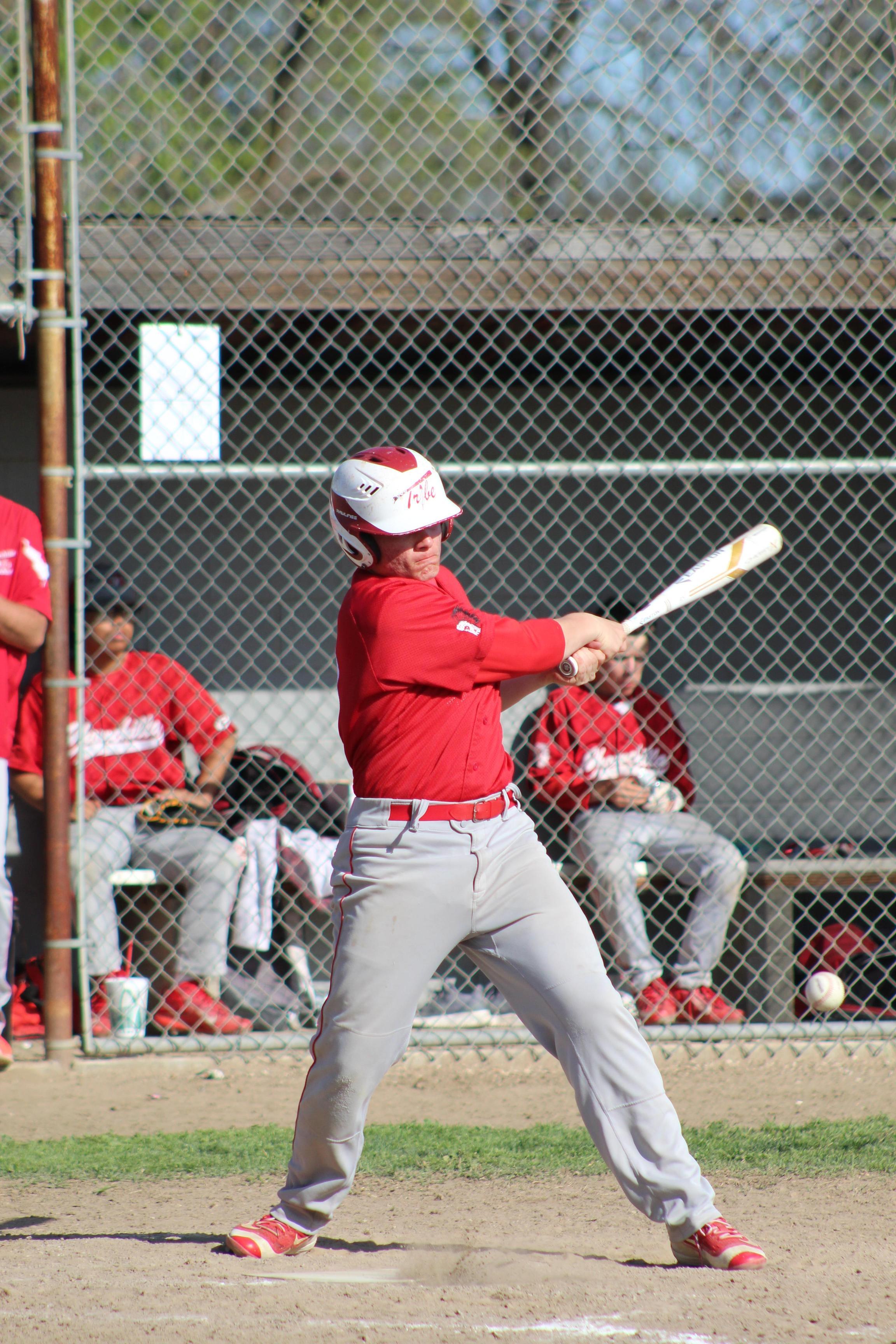 JV Baseball in action against Sierra