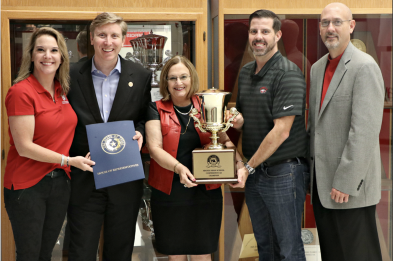 AHS RECEIVED THEIR 7TH CONSECUTIVE AND 9TH TOTAL UIL LONE STAR CUP Thumbnail Image