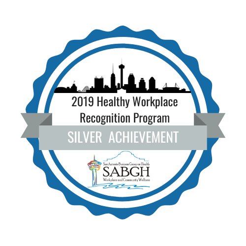 2019 Healthy Workplace Recognition Program Silver Achievement