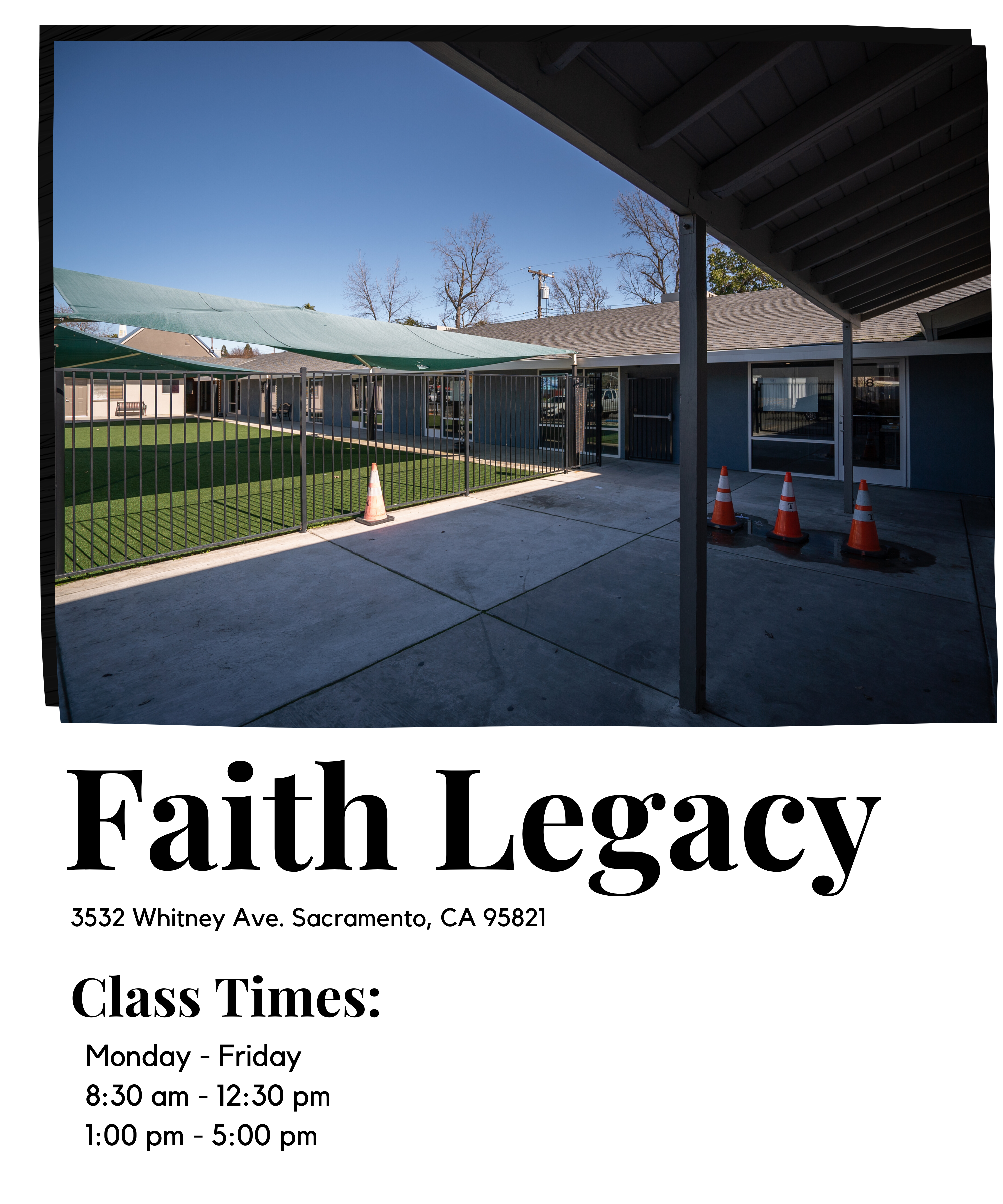 Faith Legacy building
