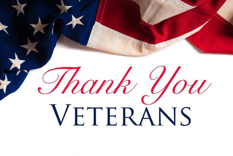 Thank you, Veterans.