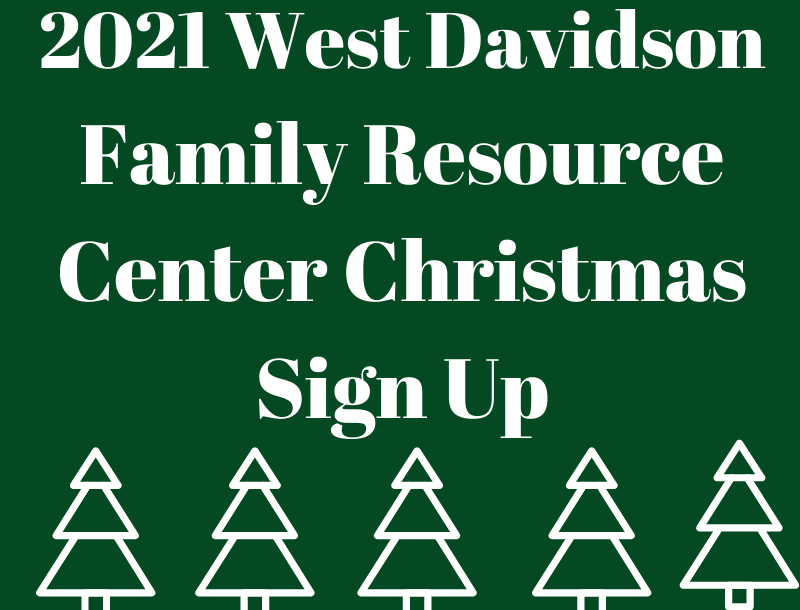 WD Family Resource Center Christmas Sign up