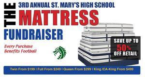 St. Mary's Football 3rd Annual Mattress Fundraiser