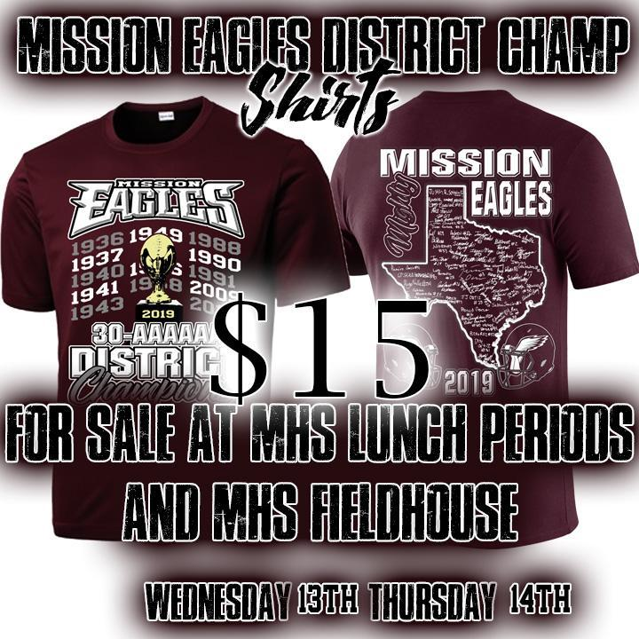 District Shirts MHS Eagles Featured Photo