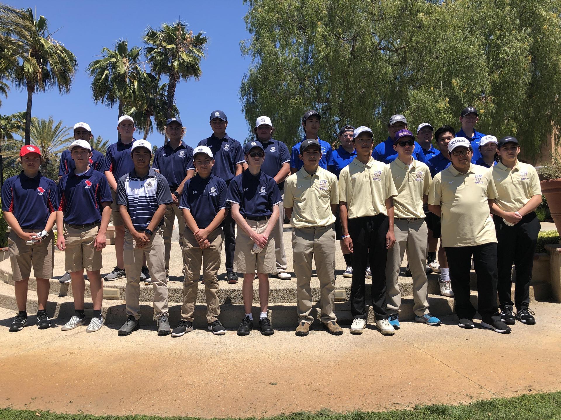 HS Varsity Golf Team