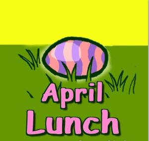 April Lunch Menu Featured Photo