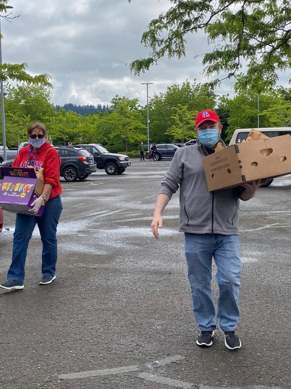 people carrying boxes