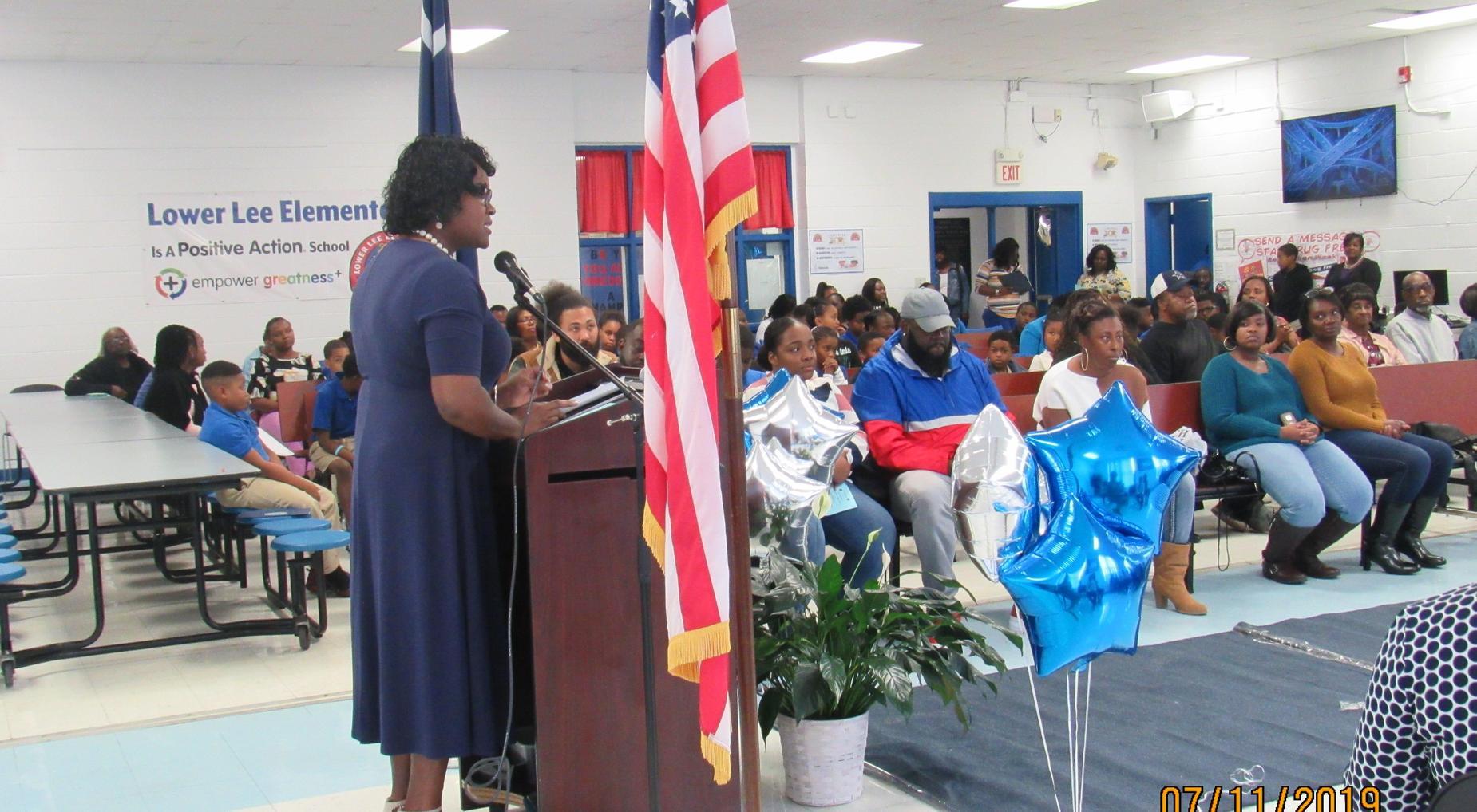 First Quarter Blue Carpet Award Day