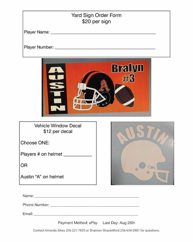 Football Banner and Car Decal Sale Featured Photo