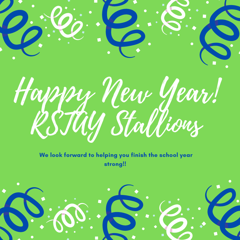 Happy New Year & Welcome Back RSTAY STALLIONS!!! Featured Photo