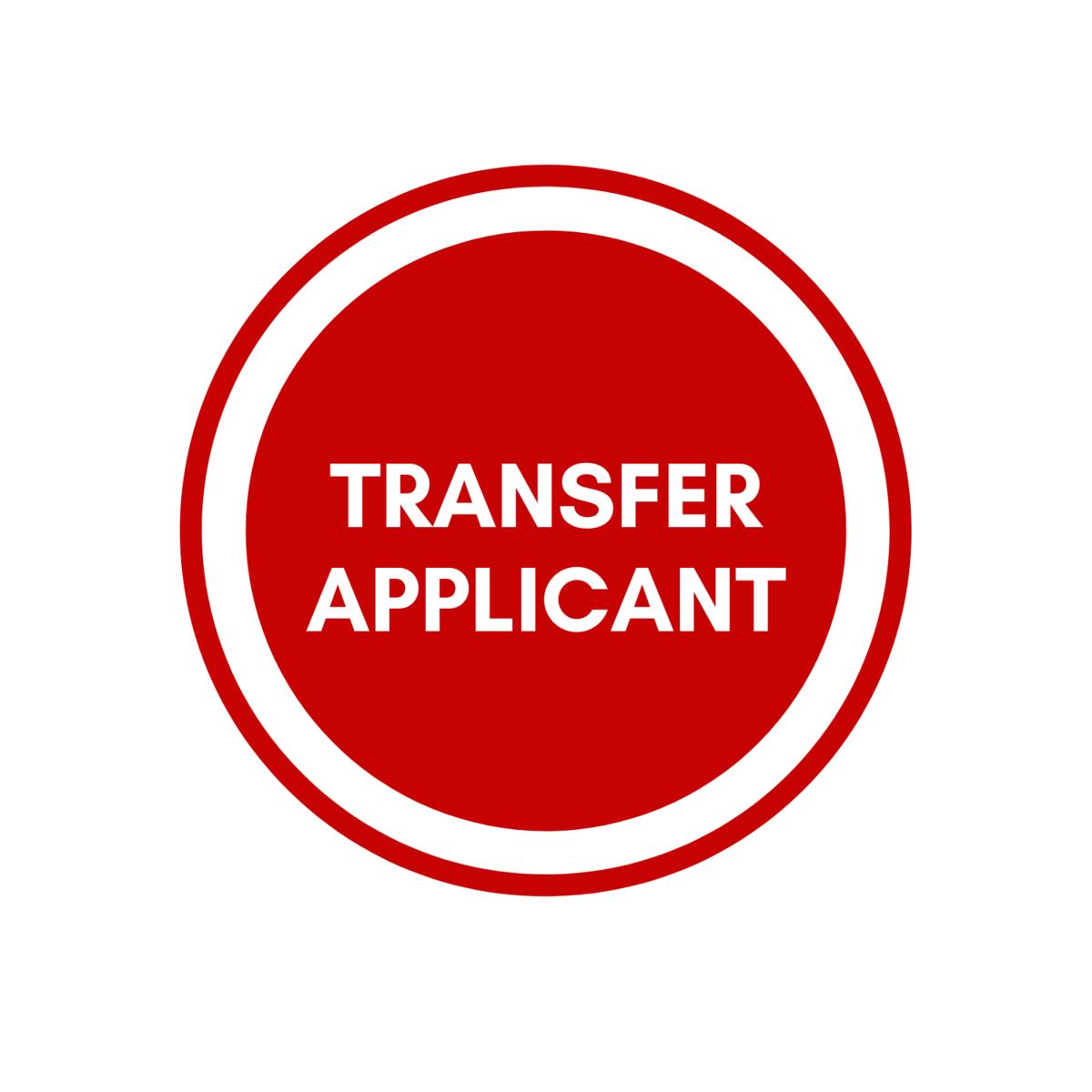 Transfer Applicant