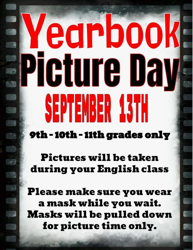 Yearbook Picture Day Info