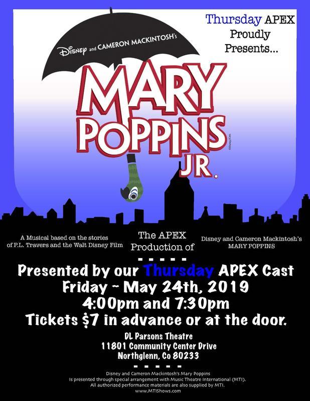 Mary Poppin flyer