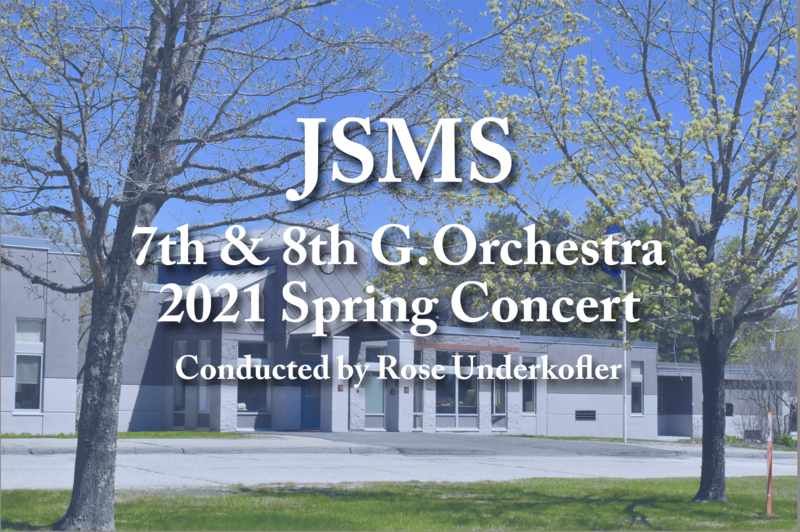 7th and 8th JSMS Orchestra