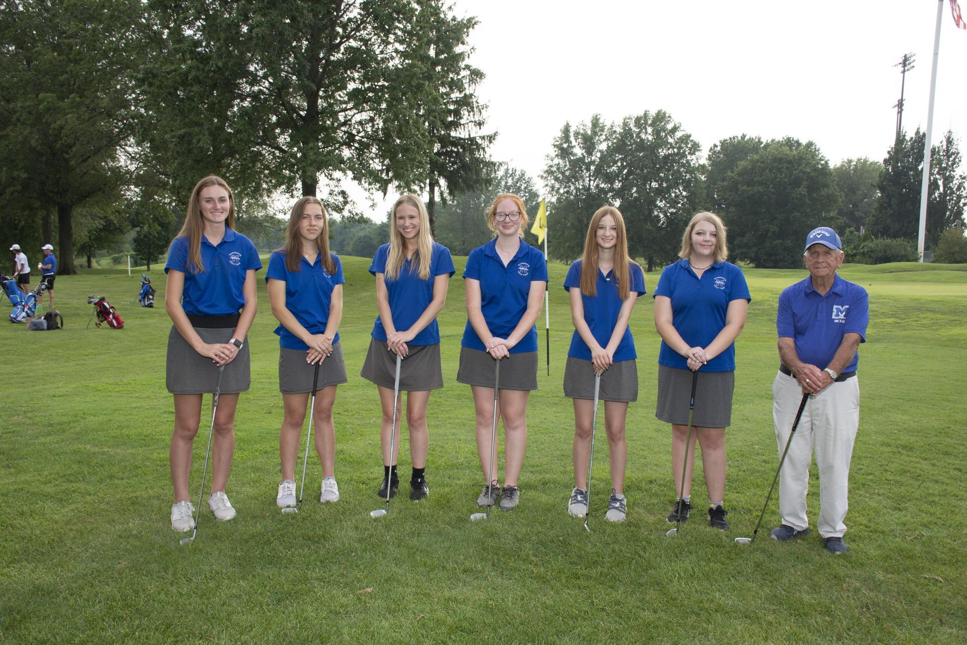 jv girls golf