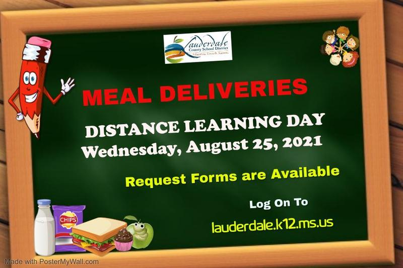 LCSD Meal Deliveries Request Forms Graphic