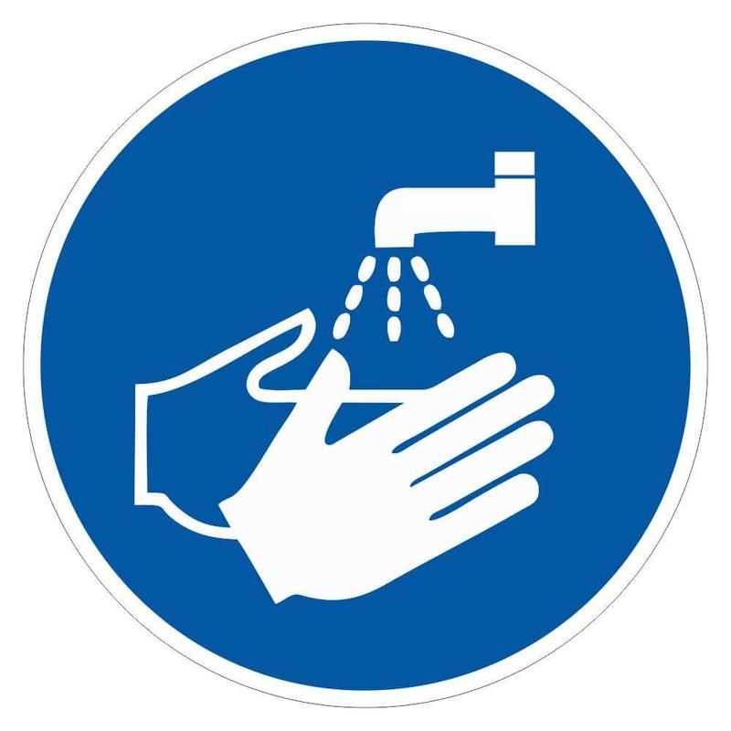washing your hands graphic