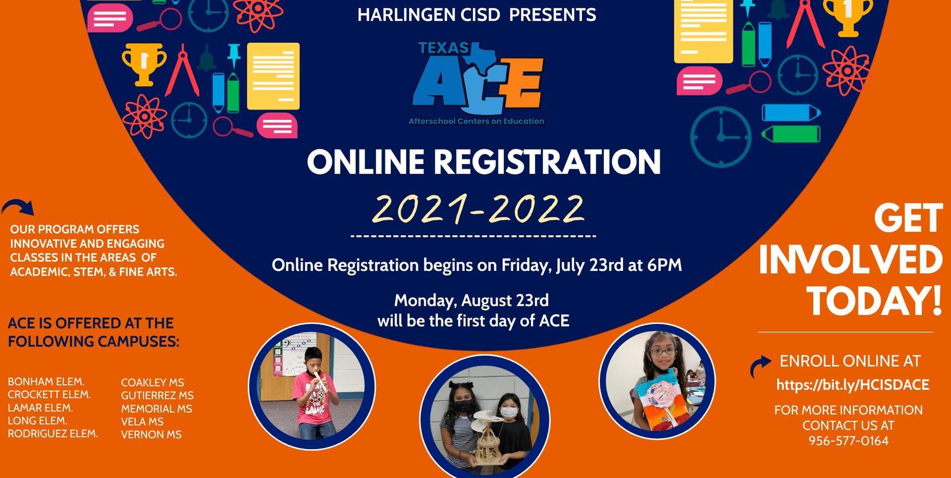 ACE Registration
