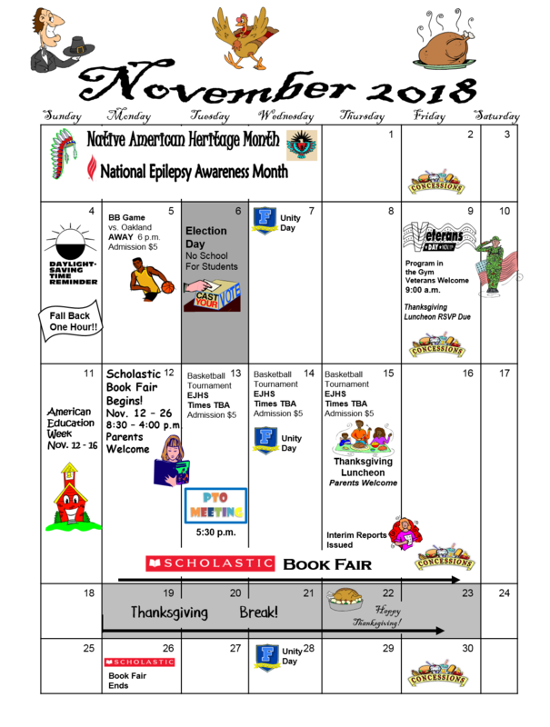 What's happening in November! Thumbnail Image