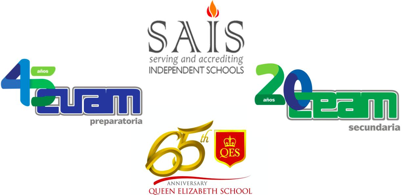Logotipos QES CEAM CUAM SAIS
