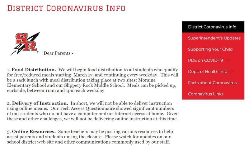 CV page